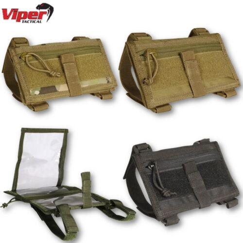 Viper Tactique Bracelet Case Carte Document Militaire Armée Randonnée Navigation Pochette