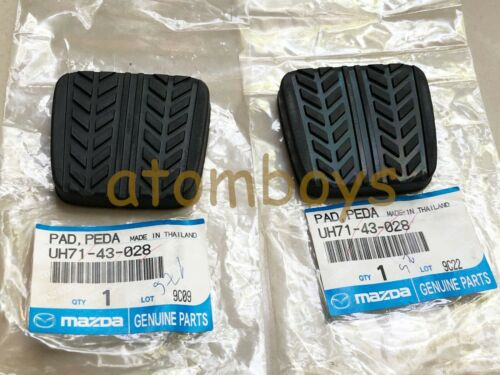 X2 GENUINE Mazda 323 626 323F MX-5 RX-7 RX7 BT-50 clutch /& brake Pedal Pad