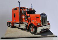Camion Miniature, Truck Kenworth-02 En Horloge