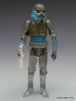 "Star Wars Shadow Stormtrooper 3.75/"" FIGURE clear version The Force Unleashed TRU"
