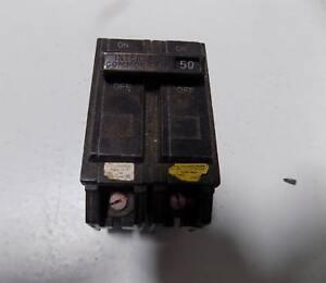 GENERAL ELECTRIC CIRCUIT BREAKER 50AMP 2P