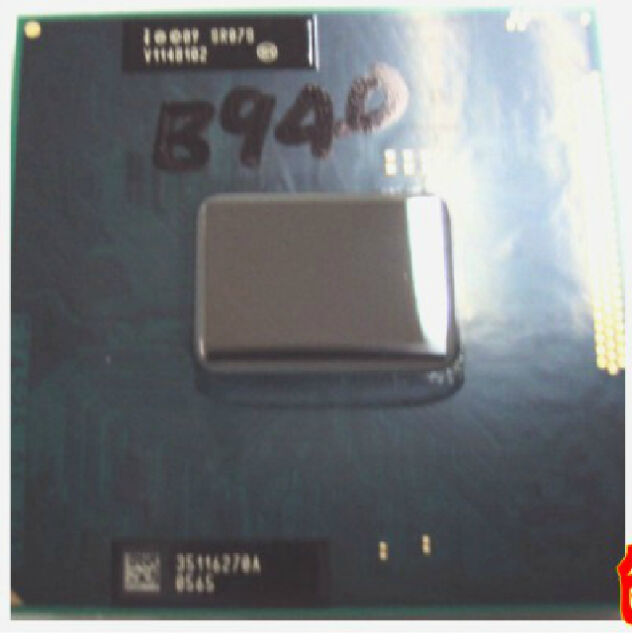 Intel Pentium B940 2.0Ghz 2MB SR07S Socket G2 PGA 988 pin CPU FF8062700847801