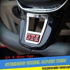 Volkswagen Car Steering Wheel Clip Cover Trim GTI R RLine Type for Golf 7 MK7