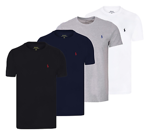 Ebay Lauren Rundhals Herren T Ralph Shirt Slim Ovp Fit Basic Neu 7Fxw1v