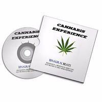 CANNABIS DRUG EXPERIENCE  DMT WEED BINAURAL AUDIO CD #420 #cannabis