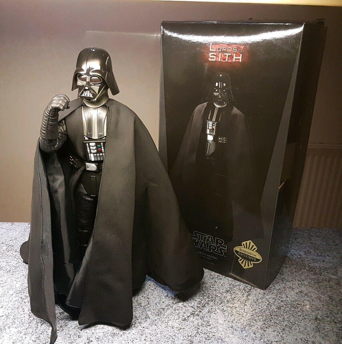 Star Wars Darth Vader Lords of the Sith 1 6 scale 12  figure SIDESHOW EXCLUSIVE