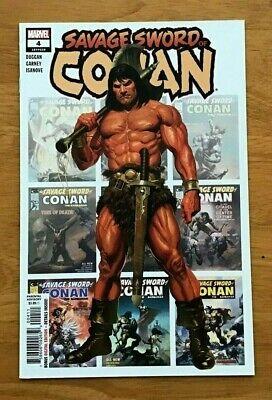 Savage Sword Of Conan #1 2019 MARVEL Comics Main Cover NM