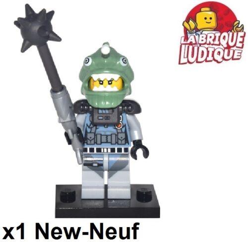Figurine Minifig Minifigure the Ninjago Movie Shark Army Angler New Lego