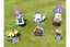 Fairy-Treehouse-Teapot-Sunflower-House-Wishing-Well-Metal-Garden-Decor-Ornament thumbnail 4