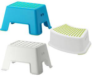 Ikea Hocker Kindertritt Stufe Tritthocker Badezimmerhocker Bolmen Forsiktig Ebay