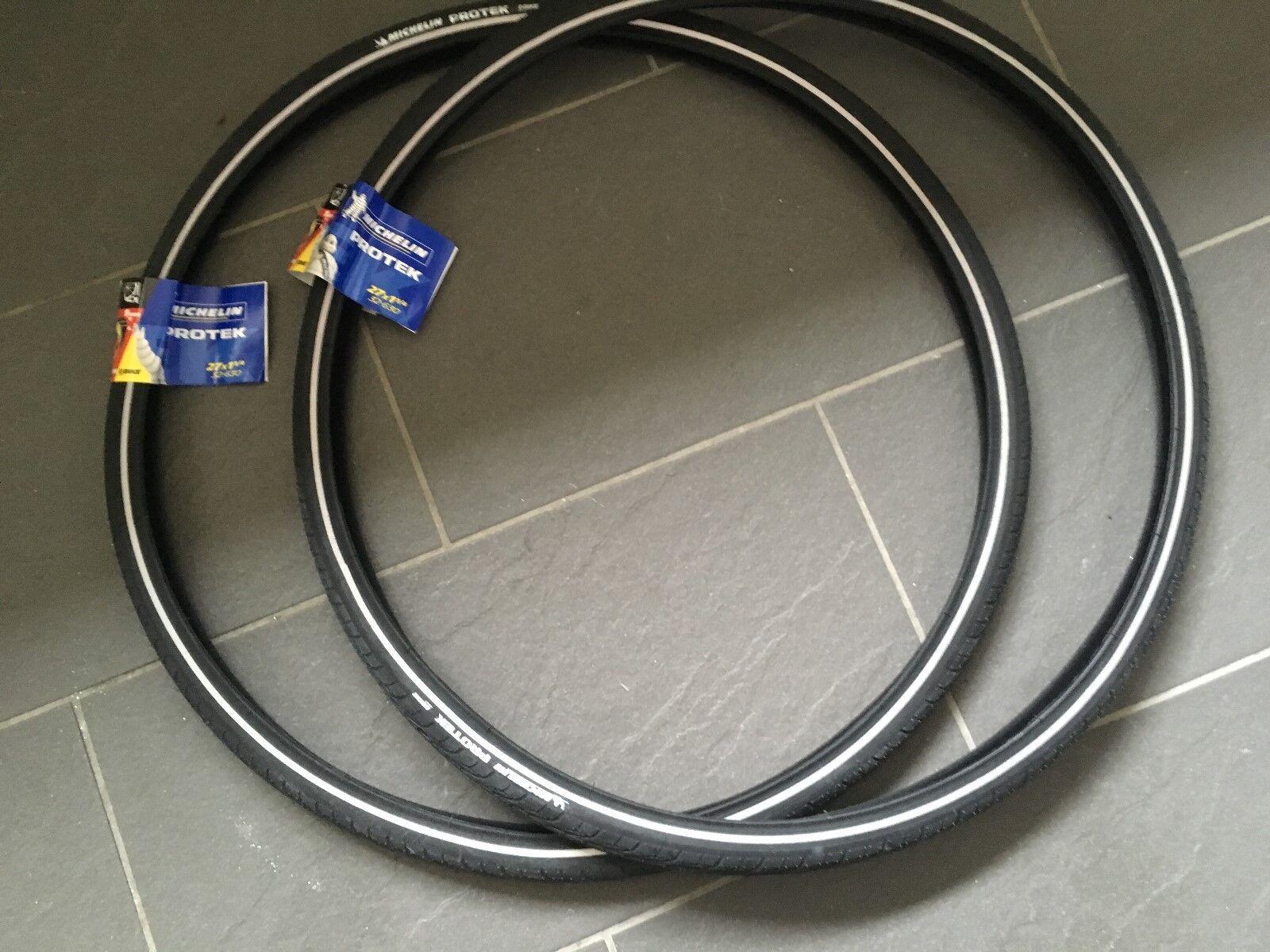 1 PAIR Michelin Predek 1mm Predection Road Bike Tyres 27  x 1 1 4  add Tubes