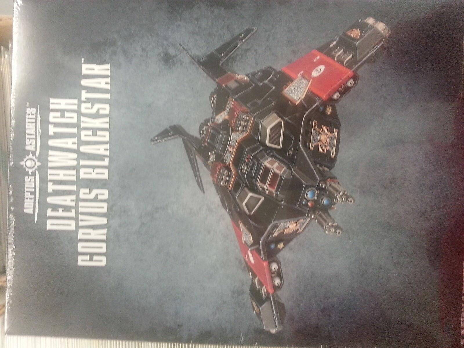 Warhammer 40K Reloj Corvus negroEstrella-Nuevo y Sellado