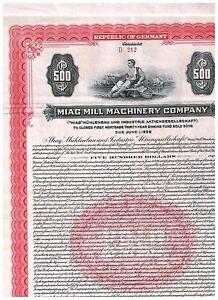 MIAG-Muehlenbau-und-Industrie-AG-1926-Gold-Anleihe-500
