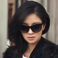 2017 New black gradient sunglasses star with the retro frame sunglasses