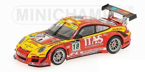 Porsche 911 gt3 R de Lorenzi Racing de Lorenzi bonetti caccia 24h spa 2011 1 43