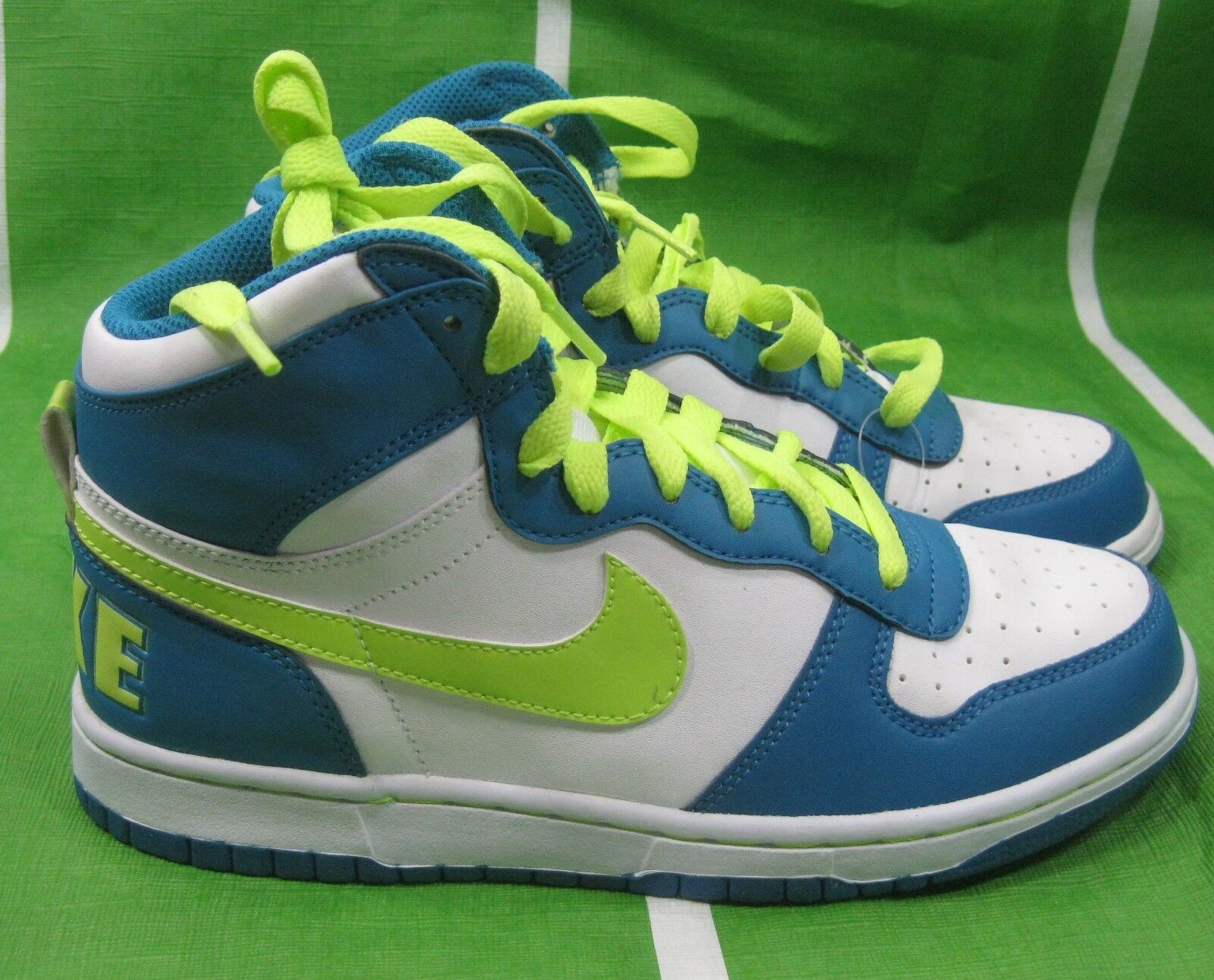 Big Nike High 358858-171 Blue Volt Sneakers Shoes Size 7.5