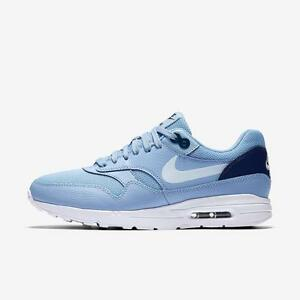 Womens Nike Air Max 1 Ultra 2.0 Shoes Aluminum/White/Midnight Navy