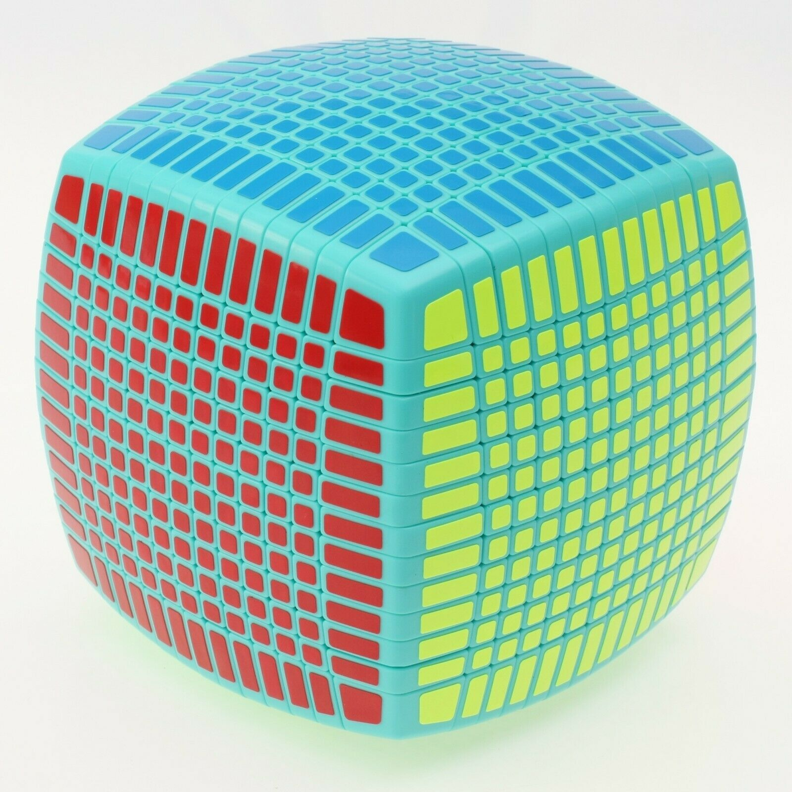 Moyu 13x13x13 Magic  Cube Professional Twisty Puzzle Intelligence Toy vert  promotions d'équipe