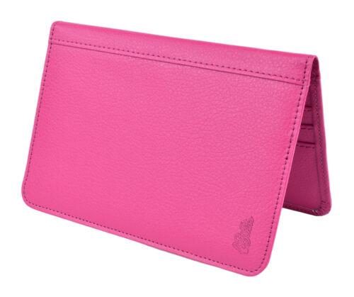 RFID Blocking Faux Leather Wallet by Belle Donne Passport Holder Travel Wallet