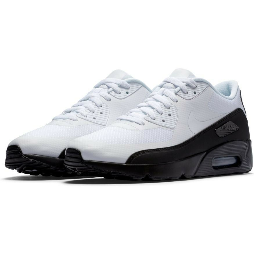 NEW Nike Air Max 90 Ultra 2.0 Essential shoes Size 9 Running White 875695-015