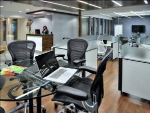 Oficina En Renta En Centro De Negocios En Punta Santa Fe Para 3 Personas (m2o119