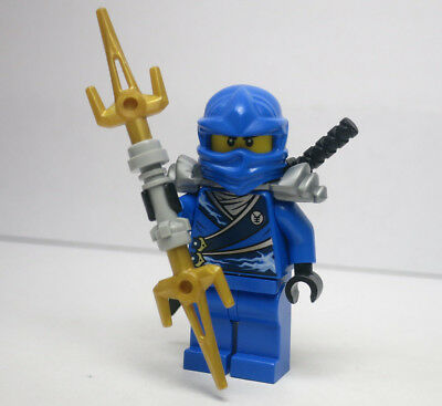 AUTHENTIC NEW LEGO Ninjago Jay Minifigure Rebooted with ZX Hood Set 10725
