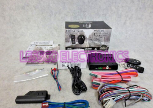 Remote Start /& Keyless Entry system up to 1,500FT RANGE RS370 EXCALIBUR RS-370