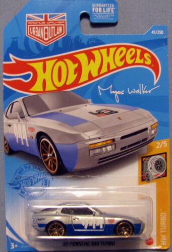"Hot Wheels 2021 Mainline Case C /"" /'89 Porsche 944 Turbo /"" HW Turbo 2//5"