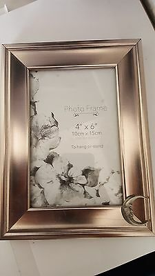 Theatrical Mask PP-G07 PICTURE FRAME SILVER 6X4 5x7 6x8 8x10 8x6  HANG OR STAND