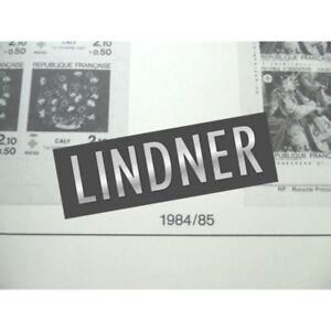 FEUILLES-LINDNER-T-1984-1985-pour-Carnets-de-timbres-France-ppH1-H2