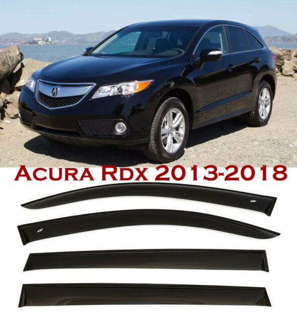 For 2013-2020 Acura Rdx Window Smoke Visor Rain Sun Guard
