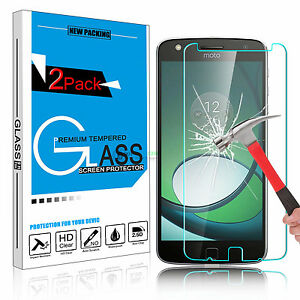 100-Premium-Tempered-Glass-Screen-Protector-Film-for-Motorola-Moto-Z-Play-Droid