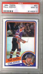 1-CARD-PAUL-COFFEY-1984-85-TOPPS-50-PSA-9