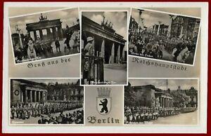 German WW 2 Third Reich postcard  BERLIN