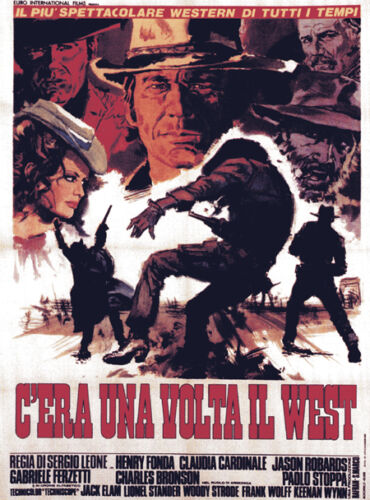 #01 Once upon a time in the west poster print