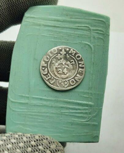 Rare Very Old Renaissance Medieval Era Silver Coin 1622 year 1//24 Thaler #96