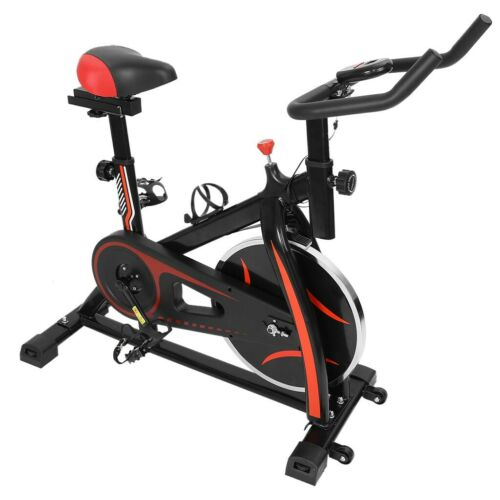 Details about  /Indoor Exercise Bike Stationary Cycling Bicycle Cardio Fitness Gym Workout LCD