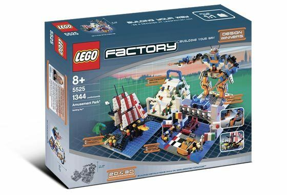 BRAND NEW Lego Factory 5525 AMUSEMENT PARK Lightly Dented Box