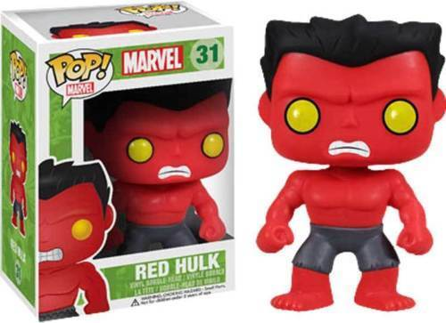 FUNKO POP MARVEL  31 rot HULKVAULTED VINYL FIGUREFAST POST