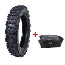 "Pit Dirt Bike 80/100-10 MX TYRE 3.00-10 300-10 10"" 10 Inch Tire + Tube"