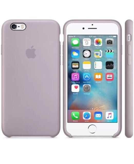 58c3e284b0a Genuine Silicone Case for Apple iPhone 6s   6 in Lavender for sale ...