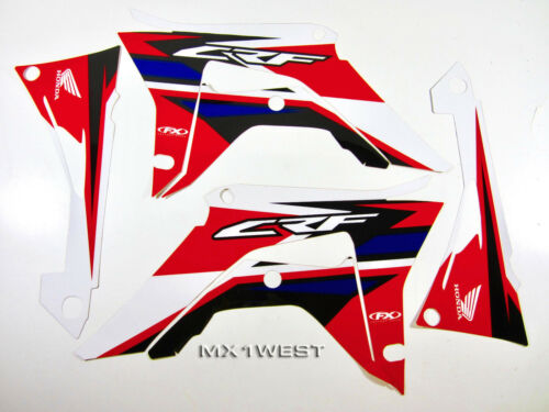 Factory Effex EVO 15 Graphics Shrouds Airbox Honda CRF 250 CRF250 R 18 19 20 21