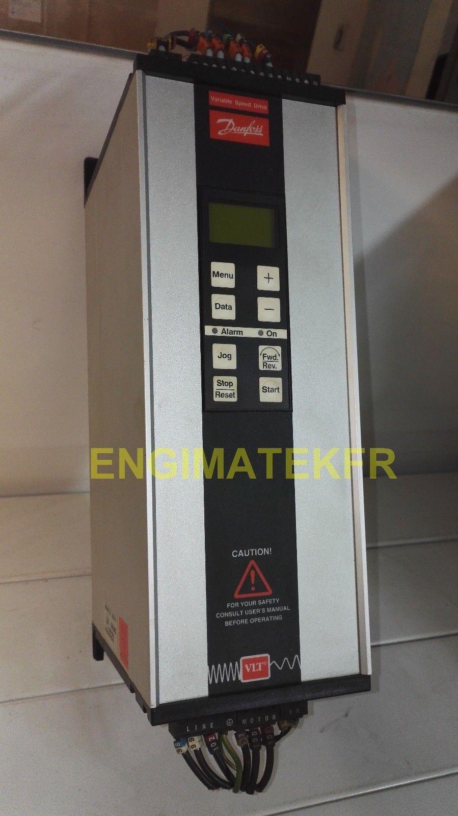 variateur vitesse 0-500HZ Danfoss VLT type 2020 195H3401 2.4kW 1.9KVA 1.9KVA 1.9KVA 565ebf