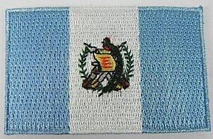 Guatemala-Aufnaeher-gestickt-Flagge-Fahne-Patch-Aufbuegler-6-5cm-neu