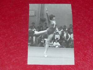 Col-J-DOMARD-GYMNASTIC-ORIGINAL-PHOTO-NADIA-COMANECI-VERNON-France-Juin-1978