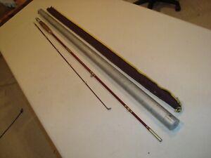 Details about Vintage Heddon PAL Mark VI Fiberglass Fly Rod #8455, 2 pc ,  8', in bag & tube