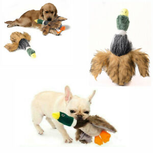 Para-Perros-Juguete-Jugar-Divertido-Mascota-Cachorro-Chew-con-Silbador-Peluche