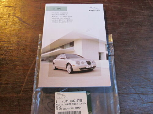 JAGUAR  S TYPE OWNERS HAND BOOK ( MANUEL DU CONDUCTEUR)