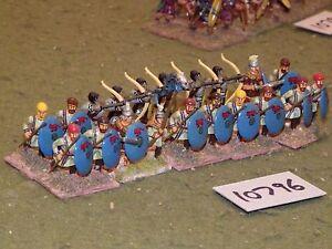 Époque romaine 25 mm / - Infanterie tardive 20 Figs Inf (10796)