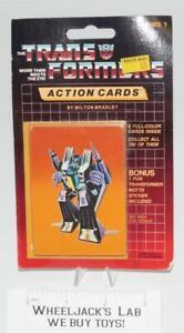2019 Nouveau Style Skywarp Emballage Scellé Carte #101 Transformers Trading Action Cartes 1985 G1-afficher Le Titre D'origine
